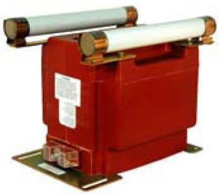 Image of a GE Model PTW5-2-110-123CC voltage transformer