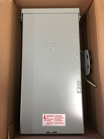 Image of the front of a GE TC10323R Emergency Power Transfer Switch