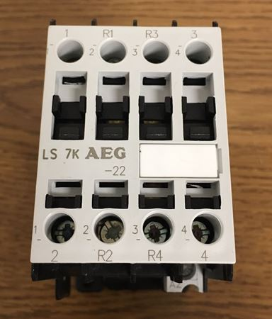 Front view of an AEG LS7K-22-A contactor