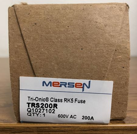 Image of a box of Mersen TRS200R fuse