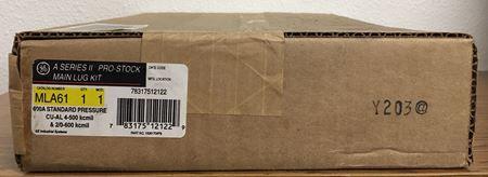 the box for a GE A Series II Pro-Stock MLA61 main lug kit