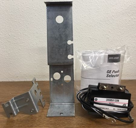 Image of the front of a GE CR305X120N Pushbutton Kit