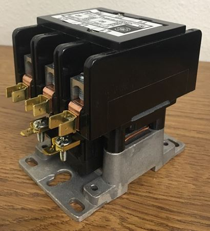 the angle of a CR353FE3BA1 GE definite purpose contactor