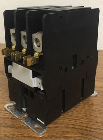 the angle of a CR553AD3HBB GE definite purpose contactor