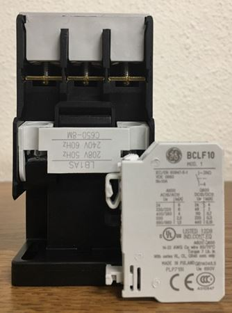 the label of a GE CL25A310TS contactor