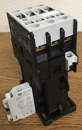 the angle of a GE CL25D310TJ contactor