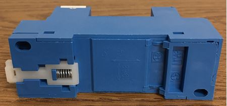 the side of a Finder Relay 96.72 Screw Terminal Socket
