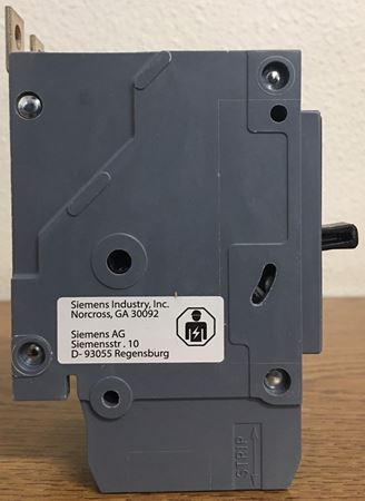 Image of the side of a BQD220 SIEMENS molded case circuit breaker