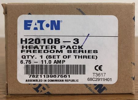 the box of an Eaton H2010B-3 heater pack