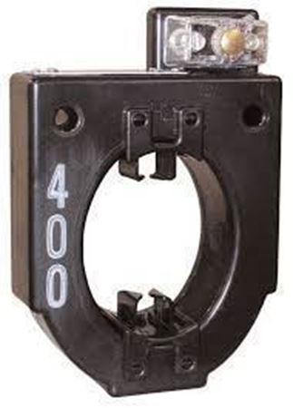 a GE JAB-0C 750X136204 600 Volt Current Transformer