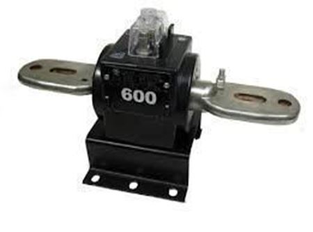 a GE JCM-0C 750X125010 600 Volt Current Transformer
