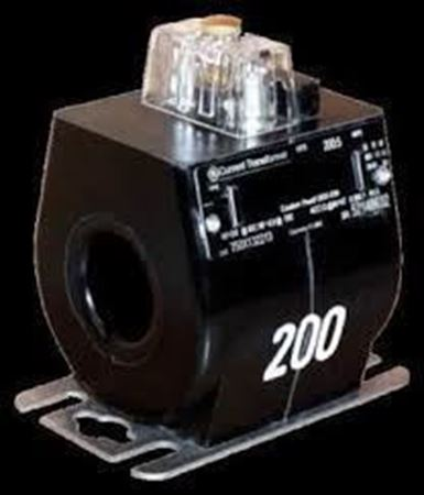a GE JCR-0C 750X134002 600 Volt Current Transformer