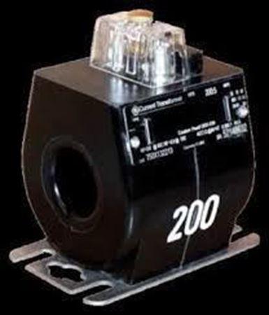 a GE JCR-0C 750X134074 600 Volt Current Transformer