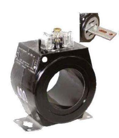 a GE JAK-0C 750X133516 600 Volt Current Transformer