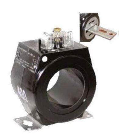 a GE JAK-AC 750X133572 600 Volt Current Transformer