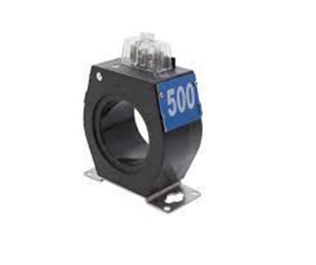 a GE JAK-0W 750X133630 600 Volt Current Transformer