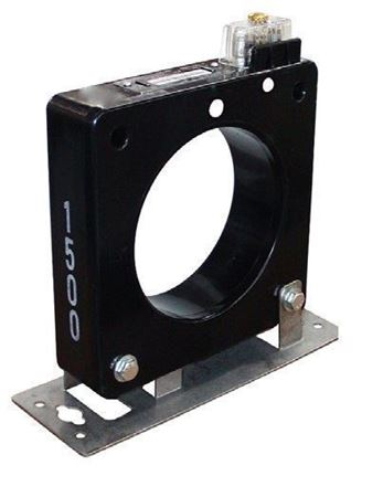 a GE Model JAD-0C 750X120003 600 Volt Current Transformer