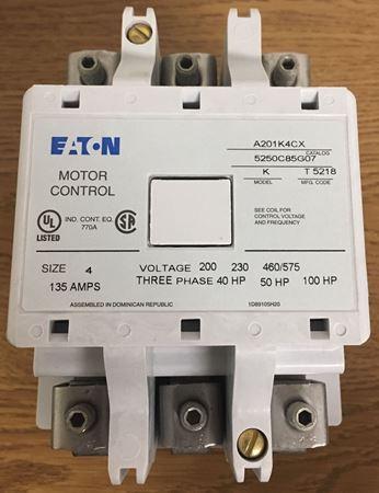 EATON / Cutler Hammer A201K4CX Non Reversing Motor Starter
