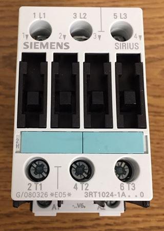 SIEMENS 3RT1024-1AV60 contactor front