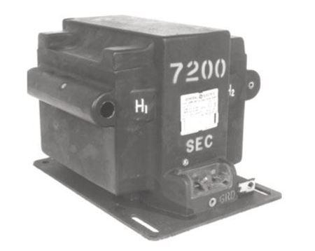 Picture of GE Model JVM-95 765X022048 Medium Voltage Voltage Transformer 95kV BIL, 7200-14400V