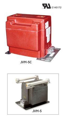 Picture of GE Model JVM-5C 765X121028 Medium Voltage Voltage Transformer 75-110kV BIL, 4200-14400V