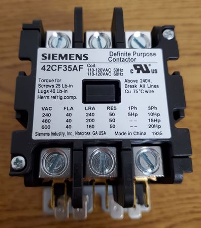 Picture of 42CF35AF - SIEMENS Contactor