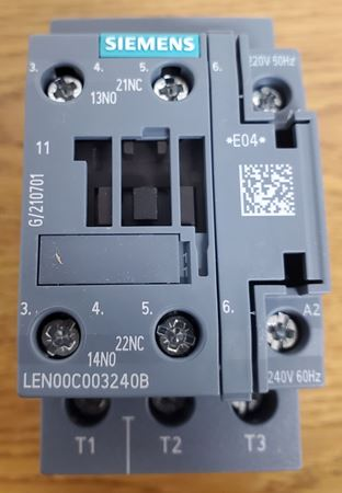 Picture of LEN00C003240B - SIEMENS Electrically Held Lighting Contactor