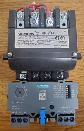Picture of 14BUC32AA - Siemens Motor Starter