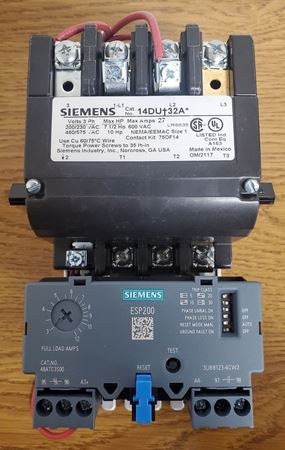 Picture of 14DUC32AA - Siemens Motor Starter