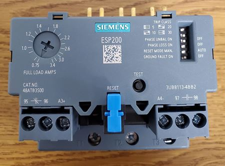 Picture of 48ATB3S00 - SIEMENS Solid State Overload Relay